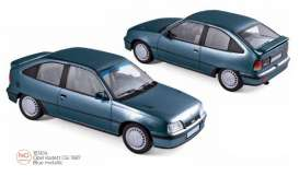 Opel  - Kadett 1987 blue - 1:18 - Norev - 183614 - nor183614 | The Diecast Company