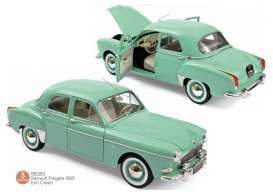 Renault  - Fregate 1959 green - 1:18 - Norev - 185283 - nor185283 | The Diecast Company