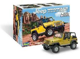 Jeep  - Wrangler  - 1:25 - Revell - US - 4501 - revell4501 | The Diecast Company
