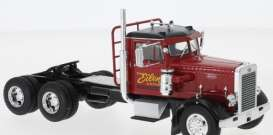 Peterbilt  - 281 1955 red - 1:43 - IXO Models - TR070 - ixTR070 | The Diecast Company