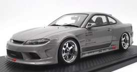 Nissan  - S15 Silvia silver - 1:18 - Ignition - IG2003 - IG2003 | The Diecast Company