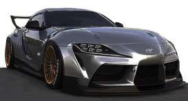 Rocket Bunny  - Pandem Supra matte grey - 1:18 - Ignition - IG2034 - IG2034 | The Diecast Company