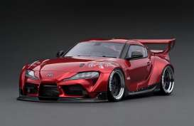 Rocket Bunny  - Pandem Supra red - 1:18 - Ignition - IG2035 - IG2035 | The Diecast Company