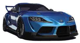 Rocket Bunny  - Pandem Supra blue - 1:18 - Ignition - IG2037 - IG2037 | The Diecast Company