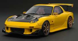 Mazda  - RX-7 yellow - 1:18 - Ignition - IG2228 - IG2228 | The Diecast Company