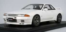 Nissan  - Skyline  white - 1:18 - Ignition - IG2168 - IG2168 | The Diecast Company