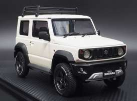 Suzuki  - Jimny white - 1:18 - Ignition - IG1705 - IG1705 | The Diecast Company