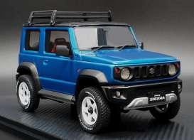 Suzuki  - Jimny blue - 1:18 - Ignition - IG1706 - IG1706 | The Diecast Company