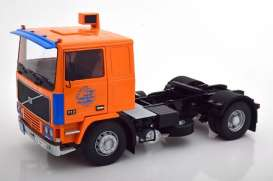 Volvo  - F12 1977 orange/blue - 1:18 - Road Kings - 180034 - rk180034 | The Diecast Company