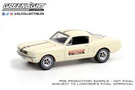 Ford  - Mustang 1965 white/black - 1:64 - GreenLight - 30265 - gl30265 | The Diecast Company