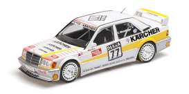 Mercedes Benz  - 190E 1990 white/yellow - 1:18 - Minichamps - 155903677 - mc155903677 | The Diecast Company