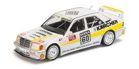 Mercedes Benz  - 190E 1990 white/yellow - 1:18 - Minichamps - 155903660 - mc155903660 | The Diecast Company