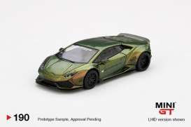 LB Works Lamborghini - Lamborghini Huracan 2020 magic bronze - 1:64 - Mini GT - 00190-L - MGT00190LHD | The Diecast Company