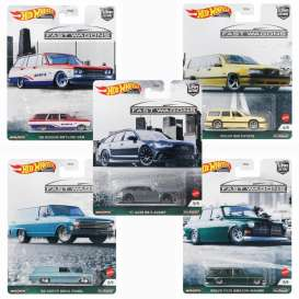 Assortment/ Mix  - Fast Wagons various - 1:64 - Hotwheels - FPY86-978B - hwmvFPY86-978B | The Diecast Company