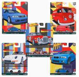 Assortment/ Mix  - German Auto various - 1:64 - Hotwheels - FPY86-978C - hwmvFPY86-978C | The Diecast Company