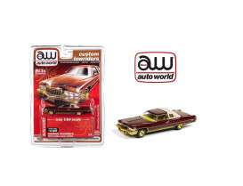 Cadillac  - Coupe Deville 1976 brown-red - 1:64 - Auto World - CP7661 - AWCP7661 | The Diecast Company