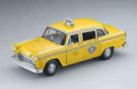 Checker  - 1981 yellow - 1:18 - SunStar - 2512 - sun2512 | The Diecast Company