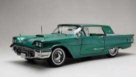 Ford  - Thunderbird hardtop 1960 green - 1:18 - SunStar - 4309 - sun4309 | The Diecast Company