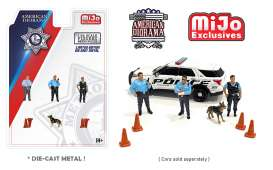 Figures  - Police  - 1:64 - American Diorama - 76459 - AD76459 | The Diecast Company
