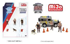 Figures  - Police  - 1:64 - American Diorama - 76460 - AD76460 | The Diecast Company