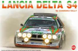 Lancia  - S4 1986 white/green/orange - 1:24 - NuNu Hobby - nunu24005 - nunu24005 | The Diecast Company