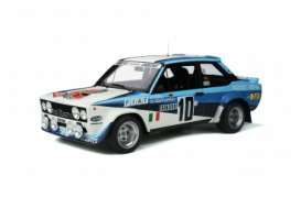 Fiat  - 131 Abarth white/blue - 1:12 - OttOmobile Miniatures - G051 - ottoG051 | The Diecast Company