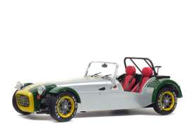 Lotus  - Seven alu/green - 1:18 - Solido - 1801803 - soli1801803 | The Diecast Company