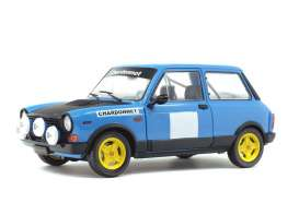 Autobianchi  - A112 blue/black - 1:18 - Solido - 1803801 - soli1803801 | The Diecast Company