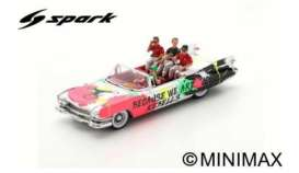 Cadillac  - Eldorado 2019 white/red/black - 1:43 - Spark - S7952 - spaS7952 | The Diecast Company