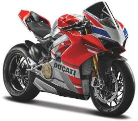 Ducati  - Panigale V4 red/white/grey - 1:18 - Maisto - 19132 - mai19132 | The Diecast Company