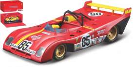 Ferrari  - 312 P 1972 red/yellow - 1:43 - Bburago - 36302R - bura36302r | The Diecast Company