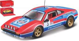 Ferrari  - 308 1962 red/blue/white - 1:43 - Bburago - 36304R - bura36304r | The Diecast Company
