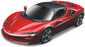 Ferrari  - red - 1:64 - Bburago - 56018 - bura56018 | The Diecast Company