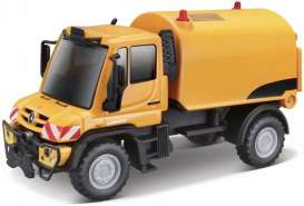 Mercedes Benz Unimog - orange/black - 1:64 - Maisto - 21238-19146 - mai21238-19146 | The Diecast Company
