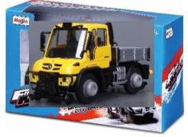 Mercedes Benz Unimog - yellow/grey - 1:64 - Maisto - 21238-19143 - mai21238-19143 | The Diecast Company