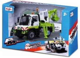 Mercedes Benz Unimog - white/green - 1:43 - Maisto - 21238-19145 - mai21238-19145 | The Diecast Company
