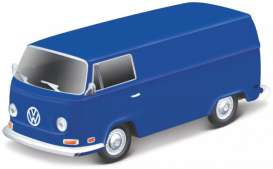 Volkswagen  - T2 Type 2 blue - 1:64 - Maisto - 25001-19110 - mai25001-19110 | The Diecast Company