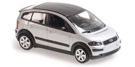 Audi  - A2 2000 silver - 1:43 - Maxichamps - 94001900 - mc940019000 | The Diecast Company