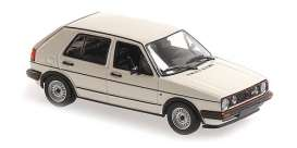 Volkswagen  - 1986 white - 1:43 - Maxichamps - 940054122 - mc940054122 | The Diecast Company