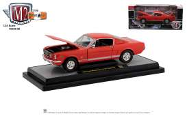 Ford  - Mustang 1965 red/white/black - 1:24 - M2 Machines - 40300-80 - M2-40300-80A | The Diecast Company