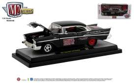 Chevrolet  - 210 1957 black/red - 1:24 - M2 Machines - 40300-80B - M2-40300-80B | The Diecast Company