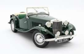 MG  - TD 1953 green - 1:18 - Cult Models - CML094-1 - CML094-1 | The Diecast Company