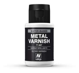 Paint Accessoires - Gloss Metal Varnish - Vallejo - val77657 - val77657 | The Diecast Company