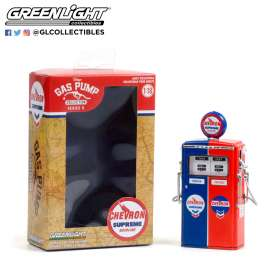 Accessoires diorama - 1954 red/blue - 1:18 - GreenLight - 14090 - gl14090C | The Diecast Company