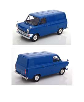 Ford  - Transit MKI delivery van 1965 blue - 1:18 - KK - Scale - 180491 - kkdc180491 | The Diecast Company