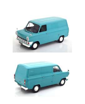 Ford  - Transit MKI delivery van 1965 light blue - 1:18 - KK - Scale - 180492 - kkdc180492 | The Diecast Company
