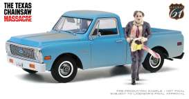 Chevrolet  - C-10 1971 blue - 1:18 - Highway 61 - hwy18022 - hwy18022 | The Diecast Company