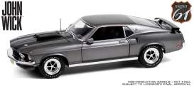 Ford  - Mustang Boss 1969 chrome - 1:18 - Highway 61 - 18031 - hwy18031 | The Diecast Company
