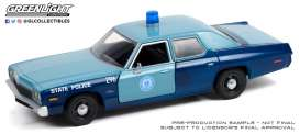 Dodge  - Monaco 2008 blue - 1:24 - GreenLight - 85532 - gl85532 | The Diecast Company