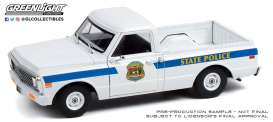 Chevrolet  - C-10 2008 white/blue - 1:24 - GreenLight - 85531 - gl85531 | The Diecast Company